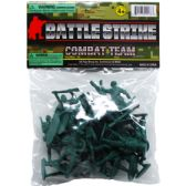 72 Units of 24 Piece Army Combat Team - Action Figures & Robots