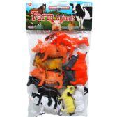 24 Units of Ten Piece Farm Animals - Animals & Reptiles