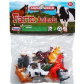 108 Units of 10 Piece Plastic Farm Animals - Animals & Reptiles