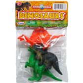 72 Units of 3 Piece Toy Dinosaur - Animals & Reptiles