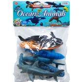 48 Units of 6 Piece Ocean Animals - Animals & Reptiles