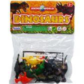 108 Units of 10 Piece Plastic Dinosaur - Animals & Reptiles