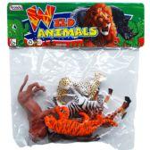 48 Units of Four Piece Plastic Wild Animals - Animals & Reptiles