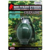 72 Units of Military Toy Grenade - Boy Play Sets