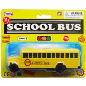 48 Units of 6 Inch School Bus - DARTS/ARCHERY SETS
