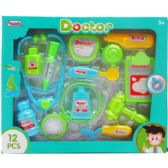 12 Units of 12 PC BOY'S DOCTOR PLAY SET