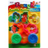 72 Units of 8 Piece Play Dough Molder Set - Clay/Play Dough