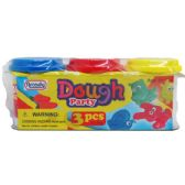 48 Units of 3 Piece Dough Play Set - Clay & Play Dough