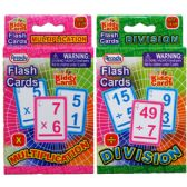 72 Units of 28 Piece Learning Flash Cards - Educational Toys