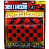 48 Units of 48 Piece Chess & Checkers