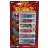 72 Units of 24 Piece Mexican Bill Casino Money Set - Toy Sets