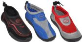 36 Units of MEN'S ASSORTED COLOR WATER SHOE - Men's Aqua Socks