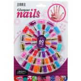 144 Units of 60 Piece Toy Nail Play Set