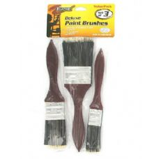 72 Units of Deluxe paint brushes - Paint and Supplies
