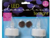 72 Units of Decorative LED Tea Light Candles - Candles