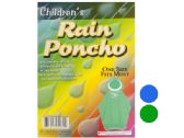 72 Units of Children's Hooded Rain Poncho - Umbrellas & Rain Gear