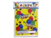 72 Units of Party Favor Loot Bags with Balloon Design