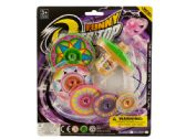 72 Units of Super Spinning Top Toy with Extra Colorful Discs - Dominoes & Chess