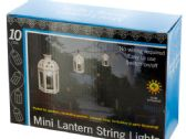 6 Units of Lanterns Solar Powered LED String Lights Set - Lamps and Lanterns