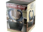 6 Units of Flowing Heart LED Fountain - Home Decor