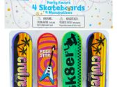 108 Units of Mini Skateboards Party Favors