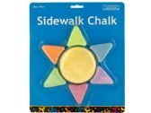60 Units of Sunshine Shaped Sidewalk Chalk - CHALK,CHALKBOARDS,CRAYONS