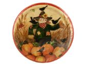 108 Units of Fall Friends Dinner Plates Set - Party Tableware