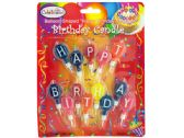 """120 Units of Balloon-Shaped """"Happy Birthday"""" Candles - Candles"""