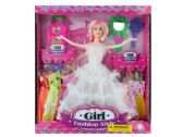 12 Units of Bride Fashion Doll with Dresses & Accessories