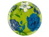 108 Units of Blue Breeze Floral Party Plates Set