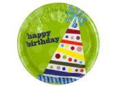 108 Units of Happy Birthday Hats Party Plates Set