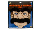 120 Units of Novelty Moustache & Eyebrows Set - Novelty Toys