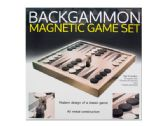 6 Units of Backgammon Magnetic Game Set - Dominoes & Chess