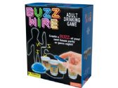 6 Units of Buzz Wire Adult Drinking Game - Dominoes & Chess