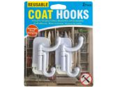 60 Units of Reusable Coat Hooks Set