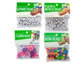 192 Units of Fashion Beads Assortment - CRAFT BEADS
