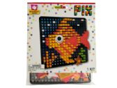 120 Units of Fish Pixel Art 3D Foam Craft Kit - CRAFT KITS