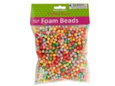 54 Units of Large Multi-Colored Foam Craft Beads - Craft Beads