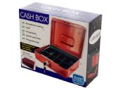 6 Units of Multi-Compartment Steel Locking Cash Box