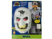 24 Units of Skull Halloween Mask with Strobe Light Effect