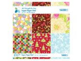 24 Units of All Through the Year Super Craft Paper Pad - CRAFT KITS