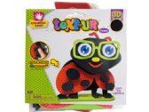 72 Units of Ladybugs Text-Ur 3D Foam Craft Kit - CRAFT KITS