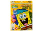 120 Units of SpongeBob Squarepants Pop-Outz Hang Ups Activity Set - Activity Books