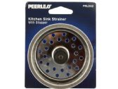 60 Units of Metal Kitchen Sink Strainer with Stopper - Strainers & Funnels