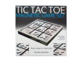 6 Units of Tic Tac Toe Magnetic Game Set - Dominoes & Chess