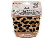 96 Units of Leopard Kozy Cuff Felt Beverage Sleeve - Cooler & Lunch Bags