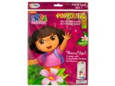 120 Units of Dora the Explorer Pop-Outz Hang Ups Activity Set - Activity Books