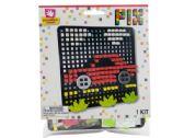 72 Units of Car Pixel Art 3D Foam Craft Kit
