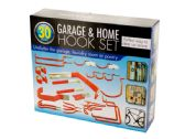 12 Units of Assorted Garage & Home Hook Set