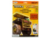 120 Units of Tonka Trucks Pop-Outz Hang Ups Activity Set